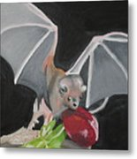 Fruit Bat Metal Print