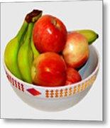 Fruit Bowl Still Life Metal Print