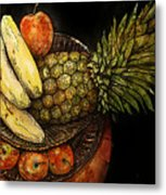 Fruit In The Round Metal Print