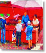 Fruit Of The Vendor Metal Print by Jeff Kolker