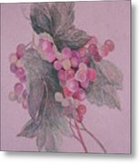 Fruit Of The Vine II Metal Print