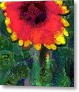 Fruit Salad Flower Metal Print