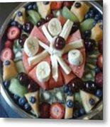 Fruit Spiral Metal Print