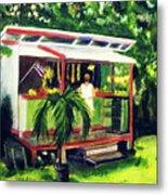 Fruit Stand North Shore Oahu Hawaii #163 Metal Print