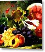 Fruit Still-life Catus 1 No 1 H B Metal Print