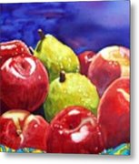 Fruitfully Yours Metal Print