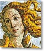 Fruity Venus I Am So Sorry Mr Boticelli Metal Print
