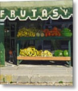 Frutas Y Metal Print by Michael Ward