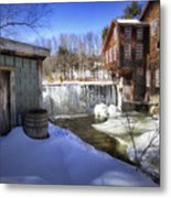 Frye's Measure Mill Metal Print by Eric Gendron