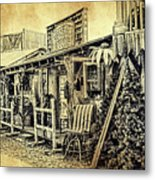 Ft. Apache General Store Metal Print