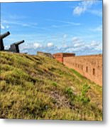 Ft. Clinch Metal Print