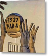 Ft Lauderdale Volleyball Time Metal Print
