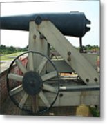 Ft Morgan Nc Cannon Metal Print