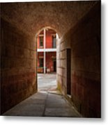 Ft. Point Hallway Metal Print