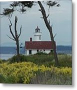 Ft. Warden Lighthouse Metal Print