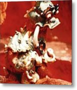 Fu Dog Metal Print