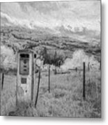 Fuel The Valley II Metal Print