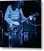 Fuel To The Blue Fire Metal Print