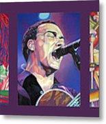 Dave Matthews Band -full Band Set Metal Print