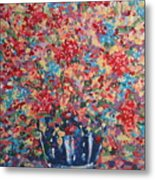 Full Flower Bouquet. Metal Print