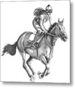Full Gallop Metal Print