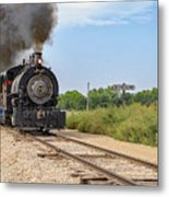 Full Steam To Nowhere Metal Print