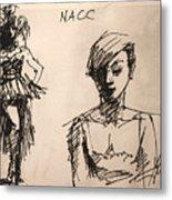 Fun At Art Of Fashion At Nacc 1 Metal Print