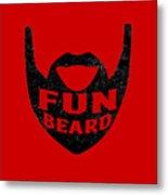 Fun Beard Metal Print
