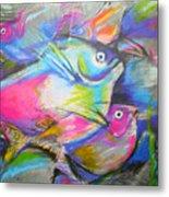 Fun Fish Metal Print