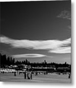 Fun On The Lake Metal Print