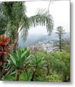 Funchal Maderia Metal Print