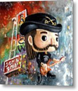 Funko Lemmy Kilminster Out To Lunch Metal Print
