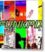 Funkpix Logo Metal Print