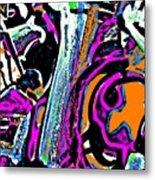 Funky Pop-14 Metal Print