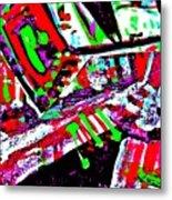 Funky Pop-9 Metal Print