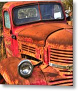 Funky Ride Metal Print