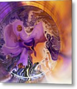 Funnel Of Time Metal Print
