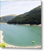 Funsingau Dam Near Gerlos Metal Print