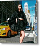 Fur-st Avenue Metal Print