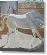 furious Horse Metal Print
