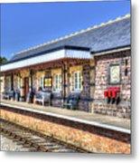 Furnace Sidings Railway Station 2 Metal Print