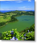 Furnas Lake Metal Print