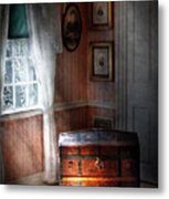 Furniture - Bedroom - Family Secrets Metal Print by Mike Savad
