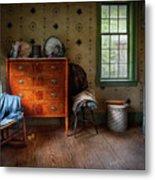Furniture - Chair - American Classic Metal Print