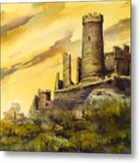 Furstenburg On The Rhine Metal Print