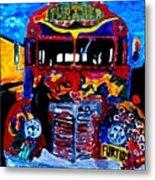 50th Anniversary Further Bus Tour Metal Print