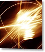 Futuristic Background Metal Print
