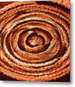 Fuzzy Rock Abstract Metal Print