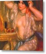 Gabrielle At The Mirror 1910 Metal Print