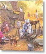 Gadiya Luhar Metal Print